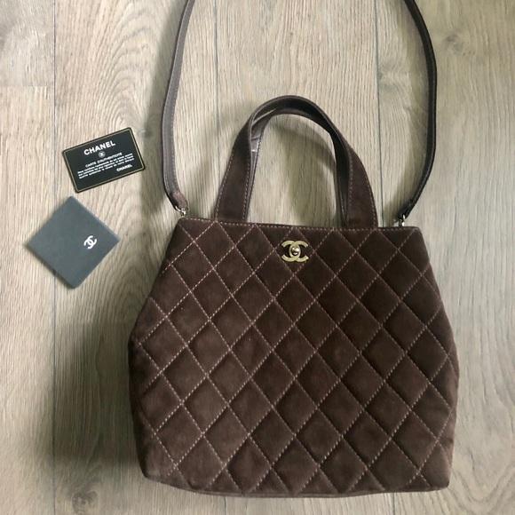 06c2b6be4c76f8 CHANEL Bags | Suede Matelasse Bag Crossbodyshoulderhand | Poshmark